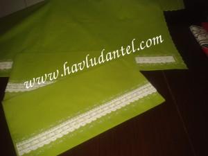 fıstık yeşili çarşaf takımı